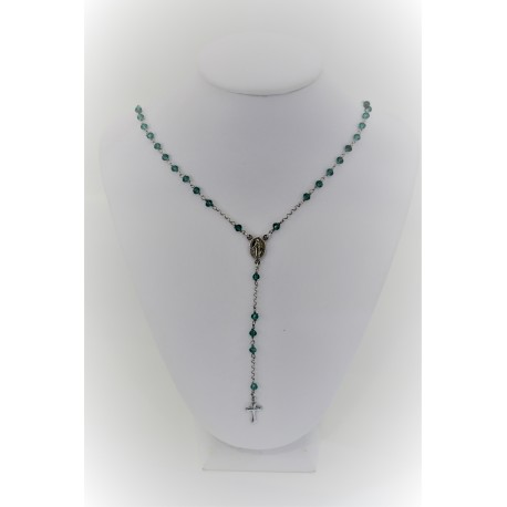 Necklace Rosary Green