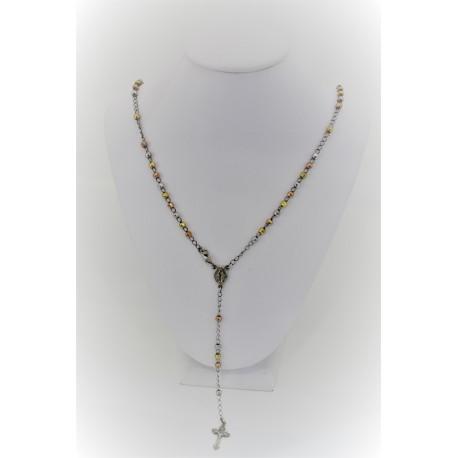 Necklace Rosary Rainbow
