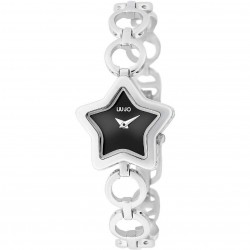 Orologio Donna Acciaio Liu-Jo Luxury To Be Star Bianco Nero
