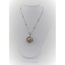 Halskette ruft engel infinity Sakì in silber 925