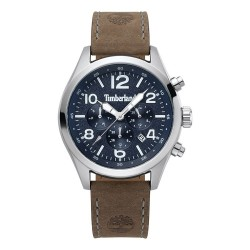 Timberland Uhr Herren Multifunktions Ashmont Braun Blau TBL.15249JS / 03