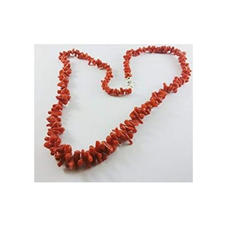 Halskette rote koralle