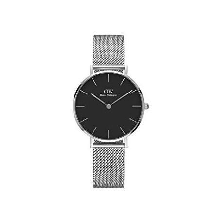 Daniel Wellington-Armbanduhr Analog Quarz unisex mit Edelstahl-Armband