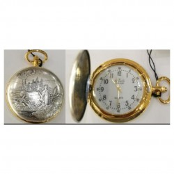 Alphis AL37 pocket watch