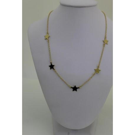 Halskette gold Star