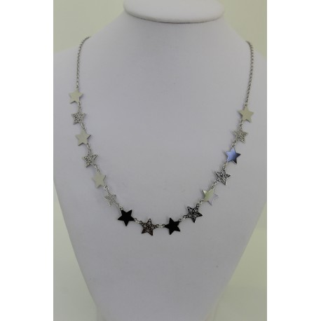 Collana Star silver