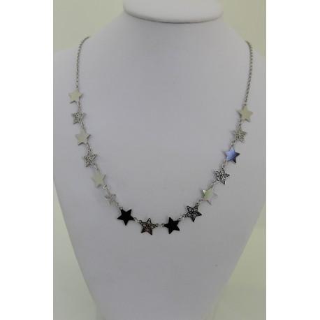Halskette Star silver