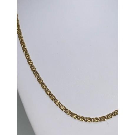 collier mâle en or jaune 18 kt 00128