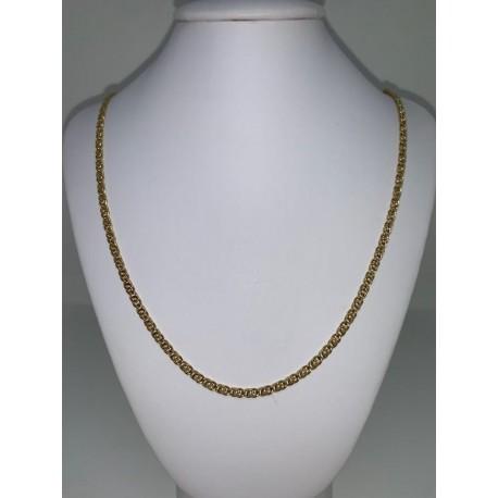 collier en or jaune homme 00130