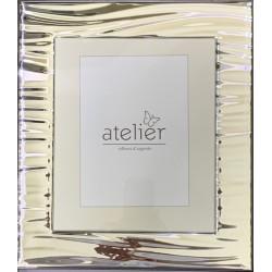 рамка из серебра 925 полоску