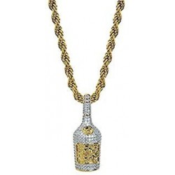 necklace with champagne bottle rapper mamy jo