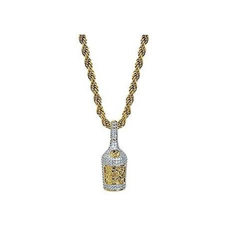 ожерелье бутылка шампанского рэпер mamy джо