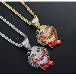 Ожерелье saw riddler в металл
