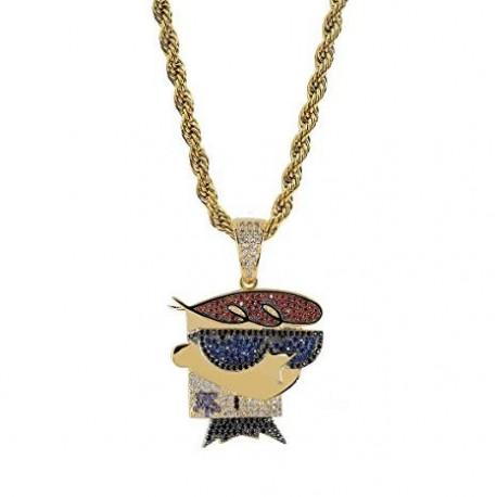 necklace dexter metal zirconate