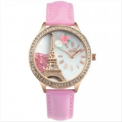 Женские часы Didofa light pink DF990R