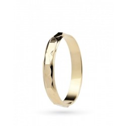 ring gentian unoaerre yellow gold 18 kt