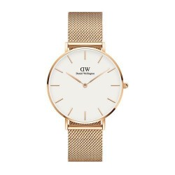 Daniel Wellington Uhr dw00100305 Melrose Goldrose weiß 36mm