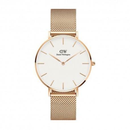 Orologio daniel Wellington dw00100305 melrose goldrose bianco 36mm