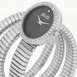 Liu Jo Women's Watch Only Time Glamor Collection Silver tlj1651