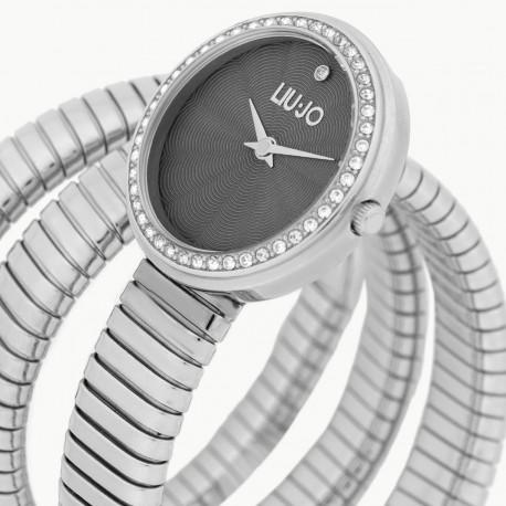 Liu Jo Orologio Donna Solo Tempo Collezione Glamour Silver tlj1651
