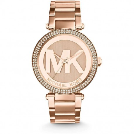 Orologio da donna Parker Michael Kors MK5865 Oro Rosa
