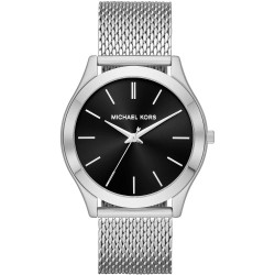 Elegant Michael Kors Men's Watch In Milan Mesh Steel mk8606