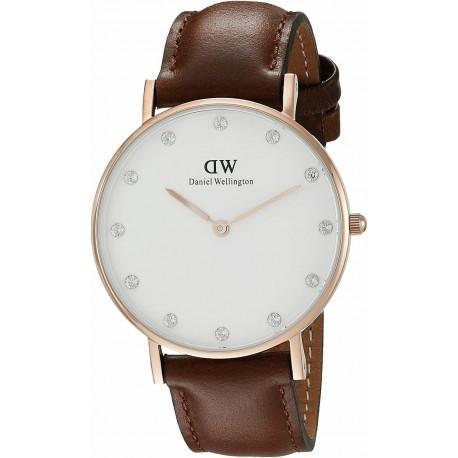 Daniel Wellington Uhr nur Zeit Frau Daniel Wellington Classy DW00100067