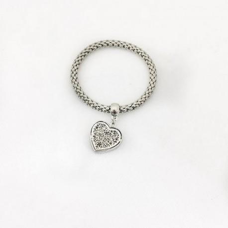 bracelet avec coeur 00020