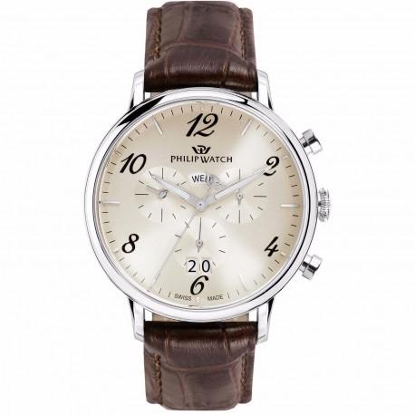 Philip Watch Mann Uhr R8271695001
